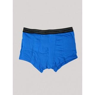 Boxer bleu riviera bambou et coton bio