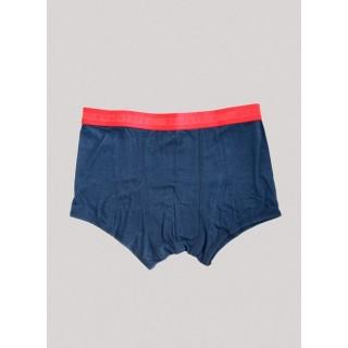Boxer bambou et coton bio bleu marine Ensign