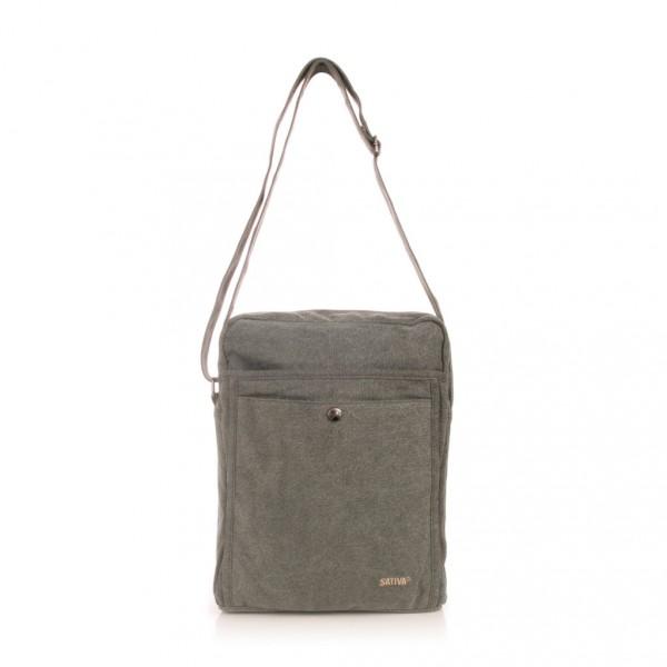 grand sac bandouli re format a4 chanvre et coton bio sao bio. Black Bedroom Furniture Sets. Home Design Ideas