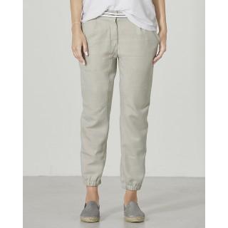 Pantalon chino slim coton bio et chanvre Heike