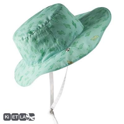 Chapeaux vert d'eau Cactus anti-UV