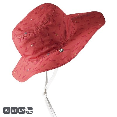Chapeaux rouge orangé Ice cream anti-UV