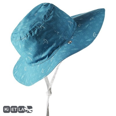 Chapeaux turquoise Swimming pool anti-UV