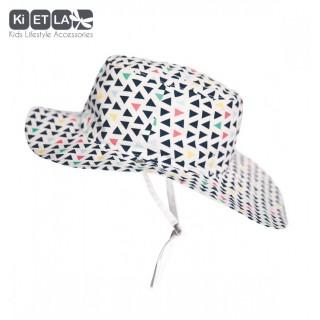 Chapeaux blanc et imprimé Fun fair anti-UV