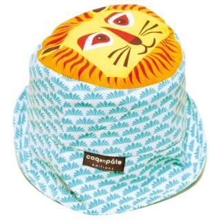 Bob turquoise coton bio lion