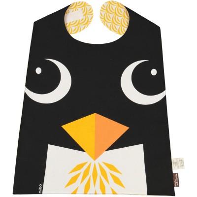 Grande serviette coton bio pingouin