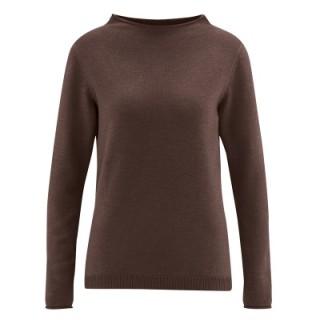 Pullover laine coton bio et chanvre