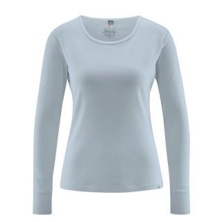 Textile écologique tee-shirt platine manches longues