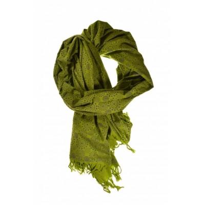 Grand Cheche vert et motiffs
