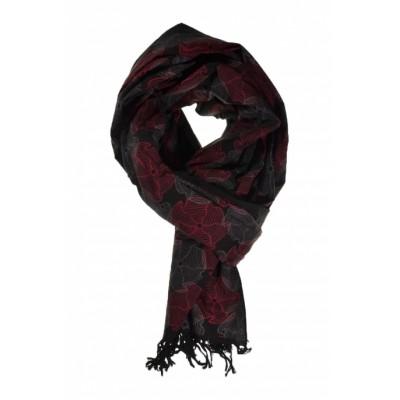 Écharpe foulard paréo issu du commerce équitable nénuphar - Sao-Bio b2bb8bbe937