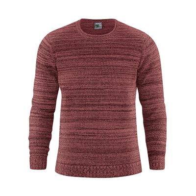 Pull chanvre coton bio marron chesnut