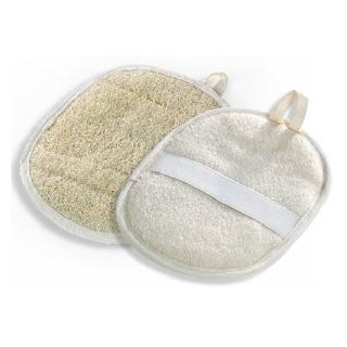 Gant ovale Loofah massage
