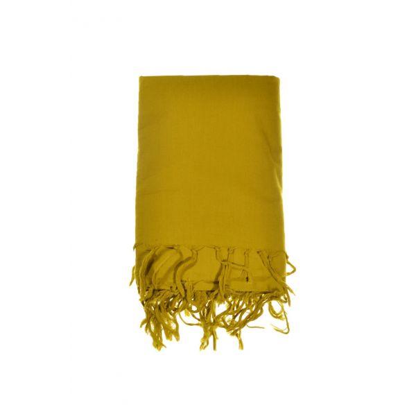 ... Chèche, foulard uni moutarde pour homme ou femme ... 73ffda9306d