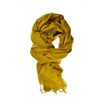 Chèche, foulard uni moutarde - Sao-Bio 5ee033df5c2