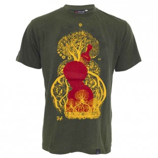 Tee shirt chanvre et coton bio Tree of life