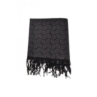 Écharpe foulard paréo issu du commerce équitable nénuphar