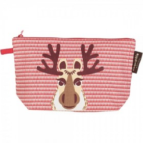 Trousse crayon ou make up rouge Caribou caribou