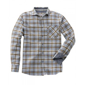 Chemise carreaux chanvre coton bio Timber