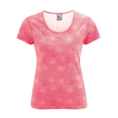 Tee shirt sans manches imprimé rouge tomato