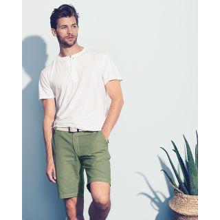 Short classic homme coton bio chanvre