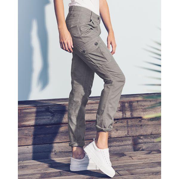 rabais de premier ordre lisse obtenir pas cher Pantalon cargo femme mode éthique femme - Sao-Bio