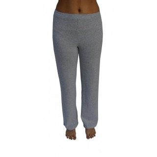 Pantalon coton bio gris