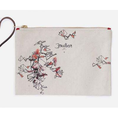 Trousse beige Constellation recto