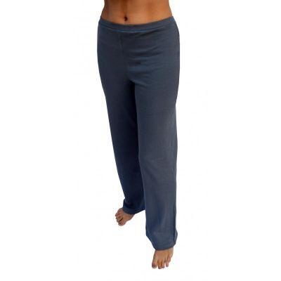 Pantalon coton bio gris foncé anthracite