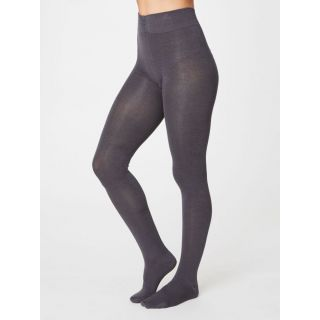 Collants en bambou gris
