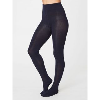 Collants en bambou bleu navy marque Thought