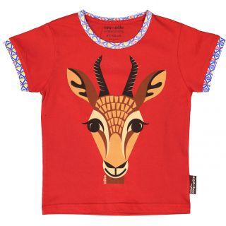 Tee shirt coton bio Gazelle