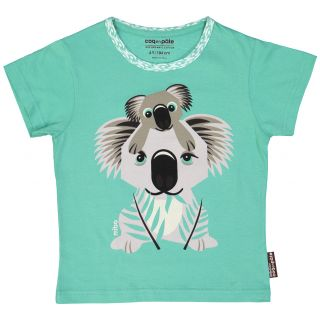 Tee shirt en coton bio et équitable imprimé Koala