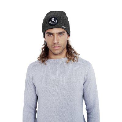 Bonnet noir anthracite homme Sea shepherd