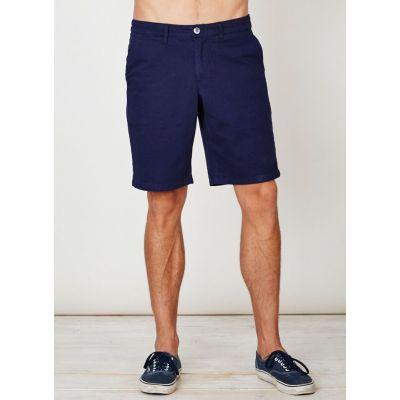 Short bleu pour homme en coton bio - Sao-