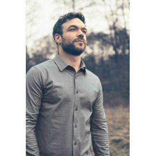 Chemise homme manches longues Hempage chanvre coton bio