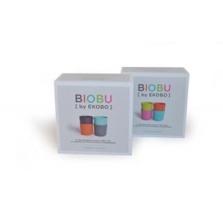 2 packs 4 gobelets de la marque biobu
