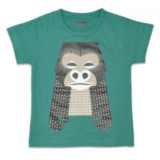 Promo t-shirt coton bio bleu Gorille