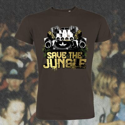 Tee shirt chanvre et coton bio vert jungle