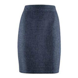 Jupe chanvre et coton bio hempage bleu gris