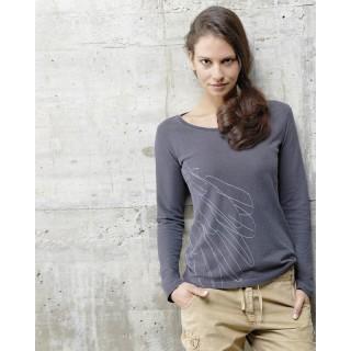 T-shirt manches longues chanvre et coton bio Alia