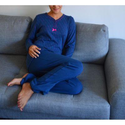 Pyjama bleu femme