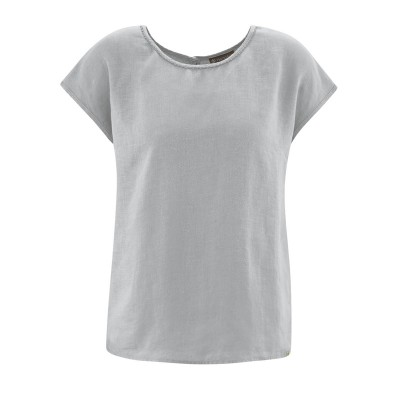 blouse pur chanvre bio gris tin
