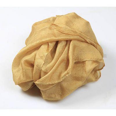 Echarpes 100% soie naturelle or