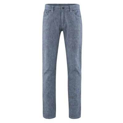 Pantalon bio 5 poches indigo