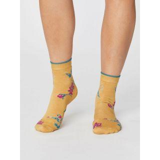 Chaussettes été modal jaune mimosa