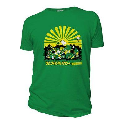 Tee-shirt vert déconsommation