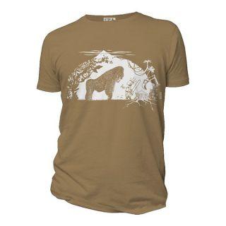 Tee-shirt Gorille beige caramel