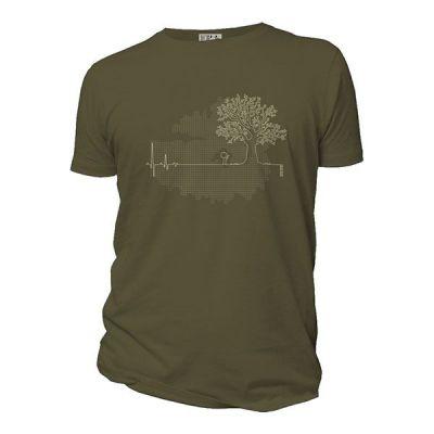Tee-shirt ligne de vie kaki
