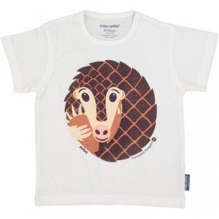 T-shirt coton bio pangolin face
