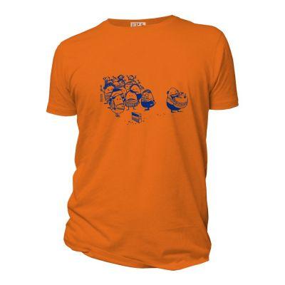 """Tee-shirt Bio Homme """"la part du gâteau"""""""